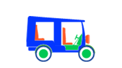 E-Rickshaw Icon