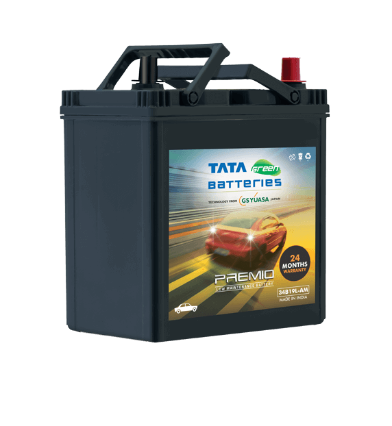 PREMIO 34B19L-AM Car Battery