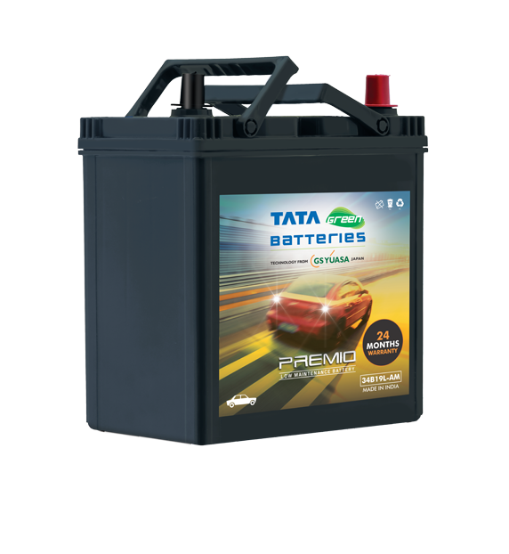 Premio 34B19L-AM Battery for Car