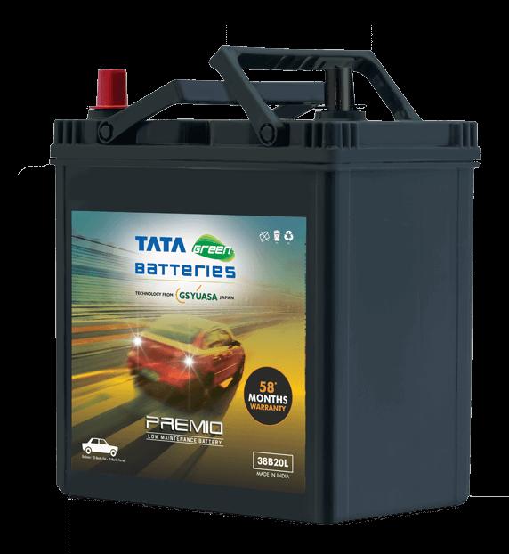 PREMIO 38B20L Car Battery