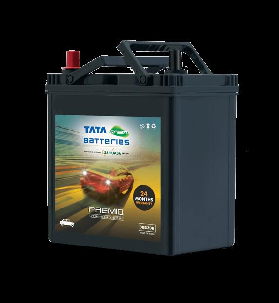 Premio 38B20R Battery for Car
