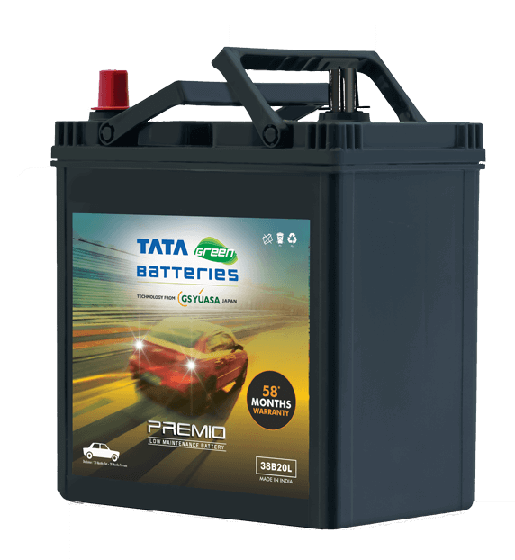Premio 38B20L Battery for Car