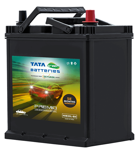 Premio 40B20L-BH Battery for Car