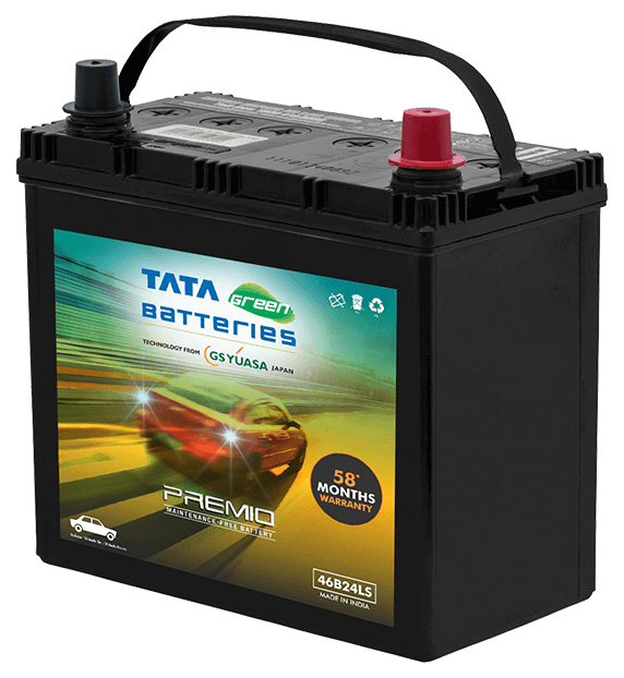 Premio 46B24LS Battery for Car
