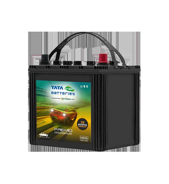 Premio 55D23L Battery for Car