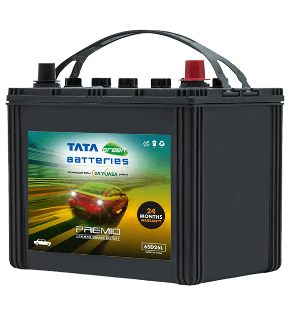 Premio 65D26L Battery for Car