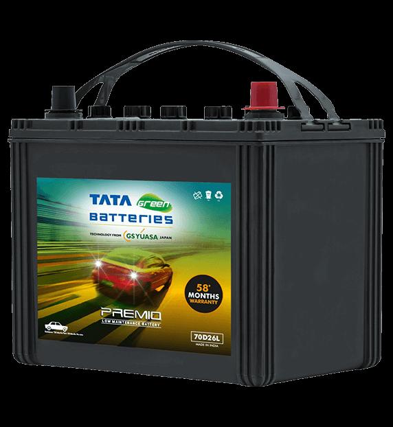 Premio 70D26L Battery for Car