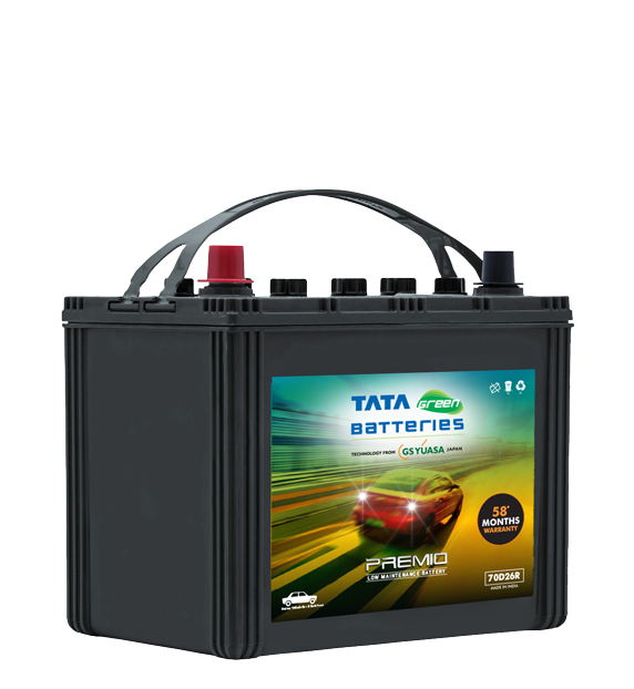 Premio 70D26R Battery for Car