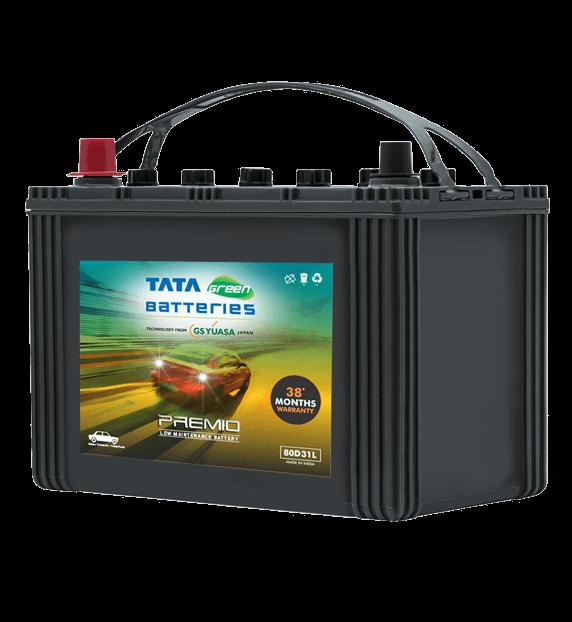Premio 80D31L Battery for Car