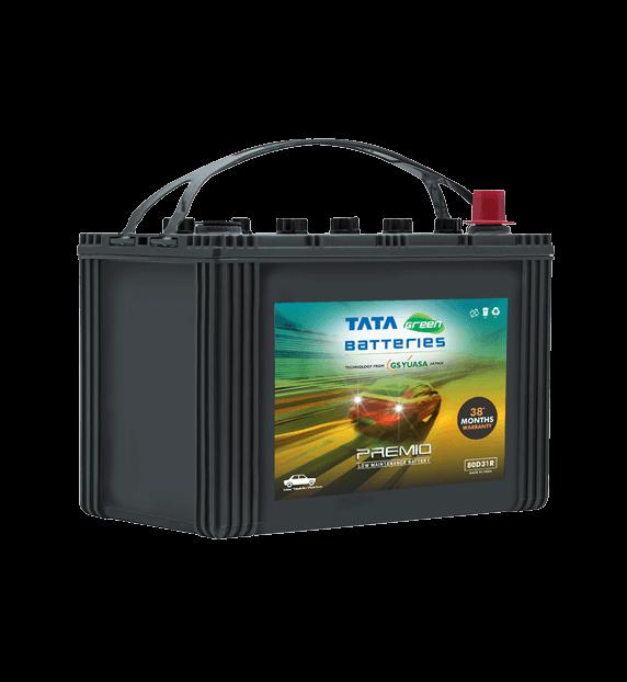 Premio 80D31R Battery for Car