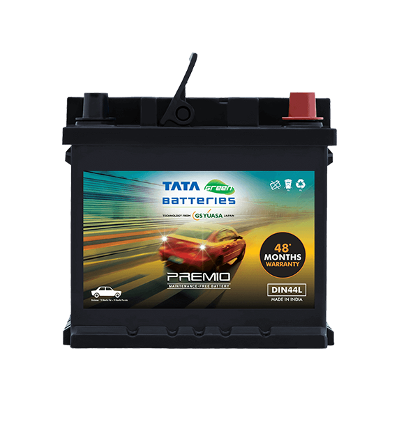 Premio DIN44L Battery for Car