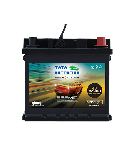 Premio DIN50L(L1) Battery for Car