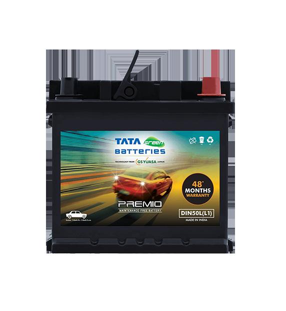PREMIO DIN50L(L1) Car Battery