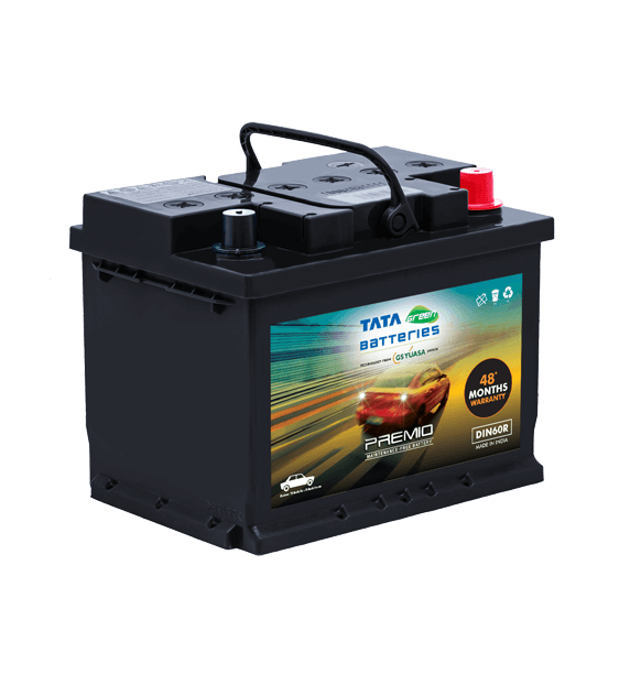 Premio DIN60R Battery for Car