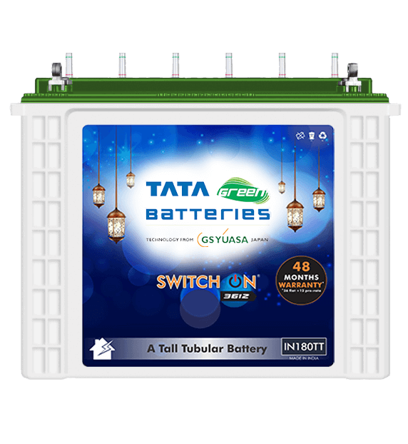 SWITCH ON IN180TT Battery for Inverter