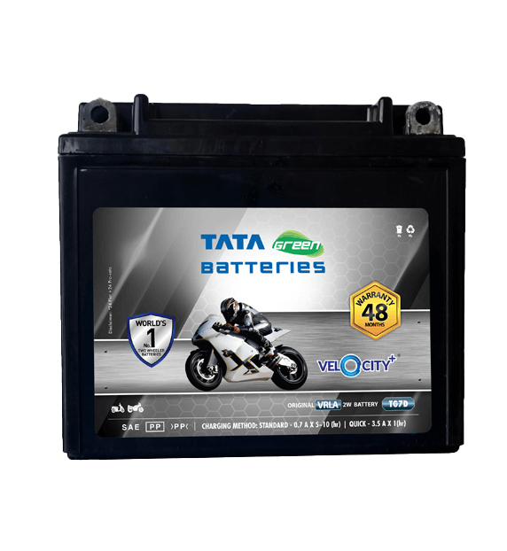 Velocity Plus TG7D Battery for Bike & Scooter