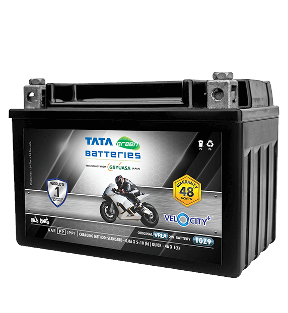 Velocity Plus TGZ9 Battery for Bike & Scooter