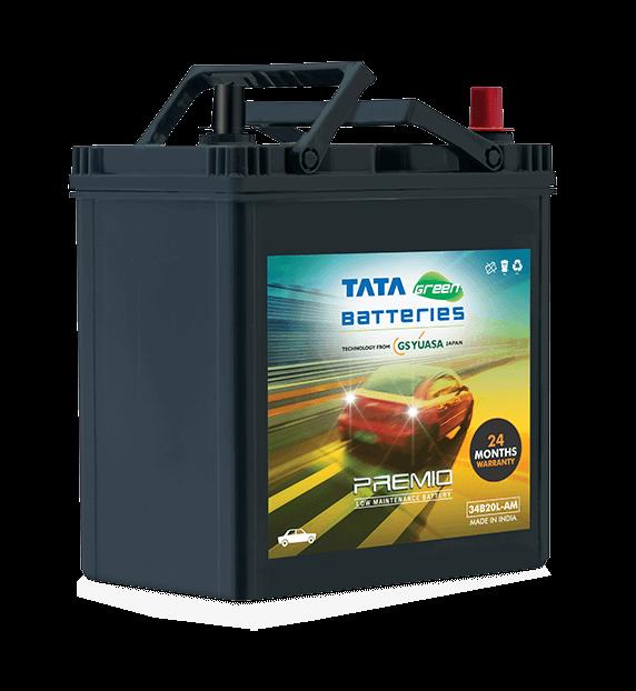 Premio 34B20L-AM Battery for Car