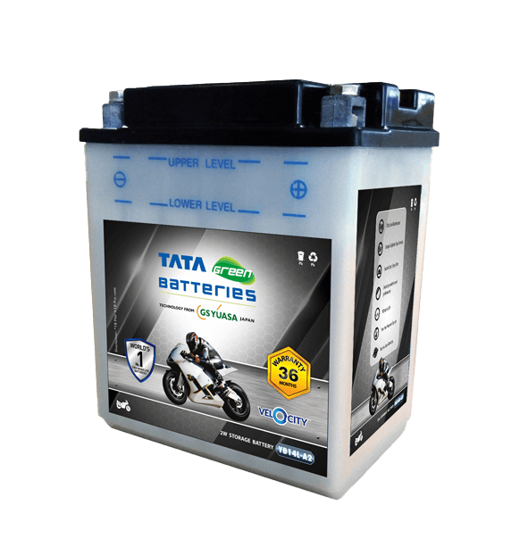 Velocity YB14L-A2 Battery for Bike