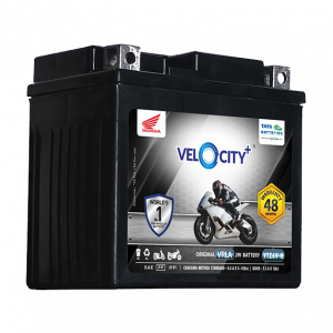 Velocity Plus YTZ6V-H Battery for Bike & Scooter