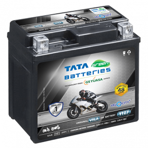 Velocity Plus YTZ7 Battery for Bike & Scooter