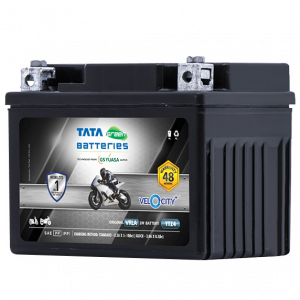 Velocity Plus YTZ4 Battery for Bike & Scooter