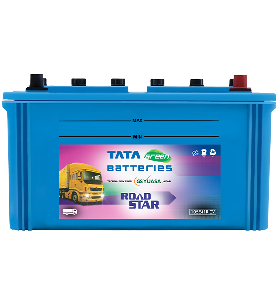 105E41RCV ROAD STAR Battery for Commercial Vehicles