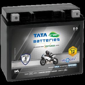 Velocity Plus GYZ20L VRLA Bike Battery